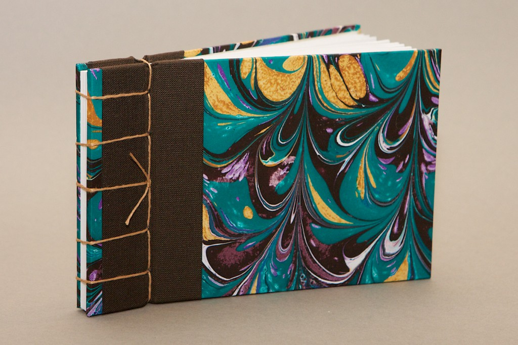 Japanese puncture bind, artist's book