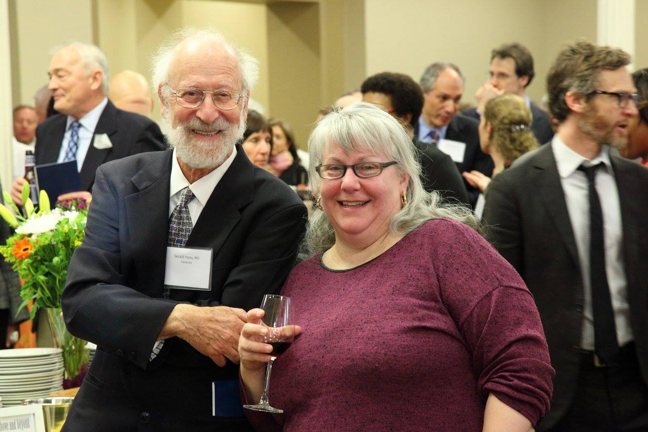 Dr. Hass and bookmaker Cristina Hajosy at the 2016 SECHC HealthCare Hero Awards Ceremony.  Photo by J.A. Edwards