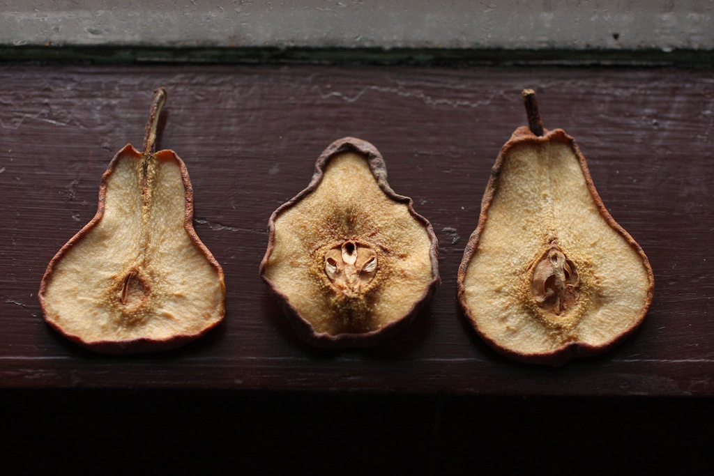 3 old pears